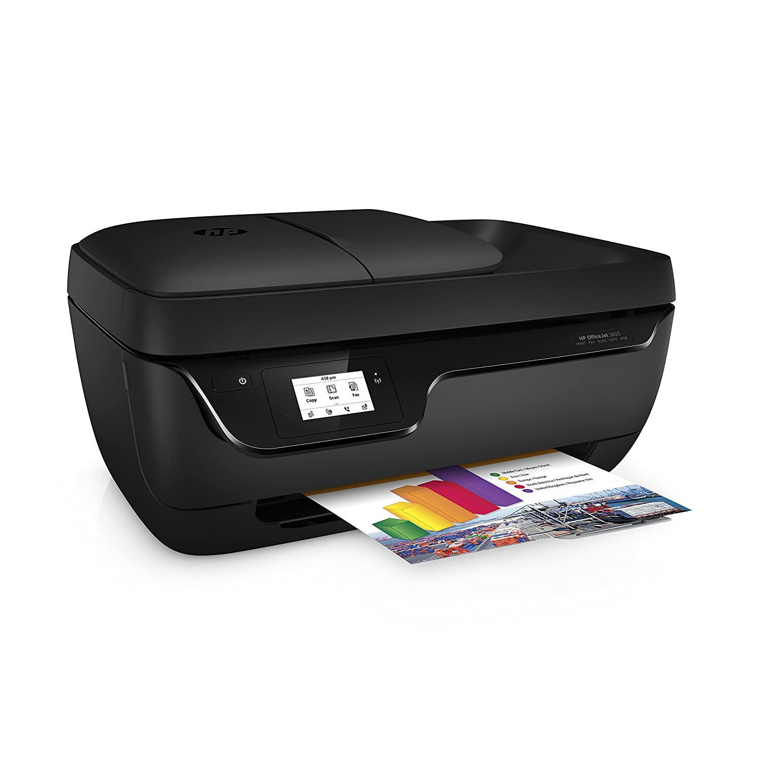 HP Officejet 3833 All-in-One Printer: Amazon.es: Informática