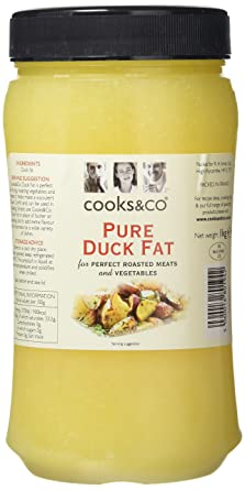 496027c9267 Cooks & Co Duck Fat 1 Kg (Pack of 2): Amazon.co.uk: Grocery