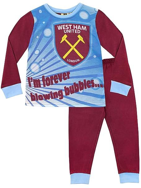 100/% Cotton West Ham United Official Kids Pyjamas