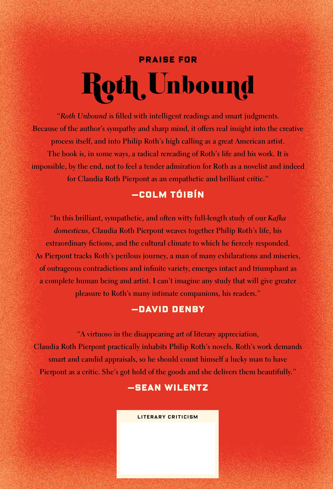 Roth Unbound: A Writer And His Books: Claudia Roth Pierpont: 9780374280512:  Amazon: Books