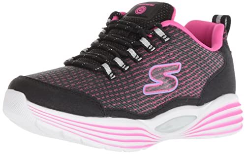 2af1f6518f9cab Skechers Mädchen Luminators Luxe Sneaker Schwarz (Black Pink Bkpk) 27 EU
