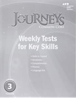Journeys grade 3 practice book volume 1 consumable houghton journeys common core weekly assessments grade 3 fandeluxe Gallery