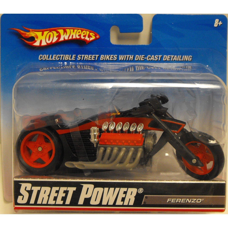 Hot Wheels Straße Macht Straßenmotorräder Straßenmotorräder Straßenmotorräder - Ferenzo (R1083) 451c16