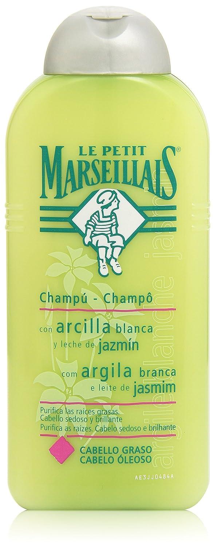Le Petit Marsellais - Champú Extracto de Lino y Leche de Almendras Dulces (Cabello Largo), 300 ml: Amazon.es: Belleza