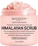 Amazon Price History for:Baebody Himalayan Salt Body Scrub - Deep Cleansing Exfoliator with Lychee Essential Oil and Sweet Almond Oil, Moisturizes Nourishes Soothes & Promotes Glowing Radiant Skin, Natural Body Wash, 12oz