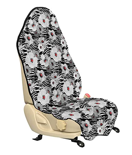 Fabulous Amazon Com Lunarable Paint Car Seat Hoody Abstract Lines Pabps2019 Chair Design Images Pabps2019Com