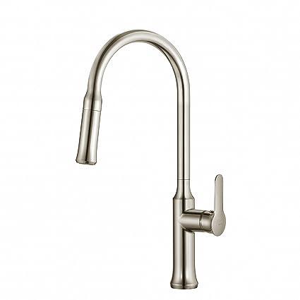 Kraus KPF-1630SS Nola Single Lever Pull-down Kitchen Faucet ...