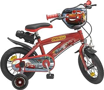 Toimsa – Bicicleta para niños bajo licencia Cars 3 12 pulgada (de ...