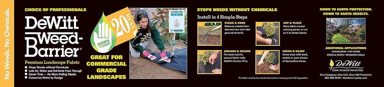 100-Feet DeWitt 3YR3100RF 3 Year Weed Barrier Retail Refill