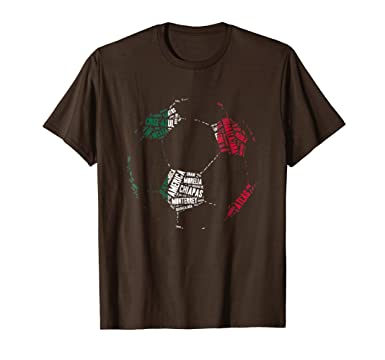 Amazon.com: Camiseta Equipos de Futbol Mexico - Mexican Soccer T-Shirt: Clothing