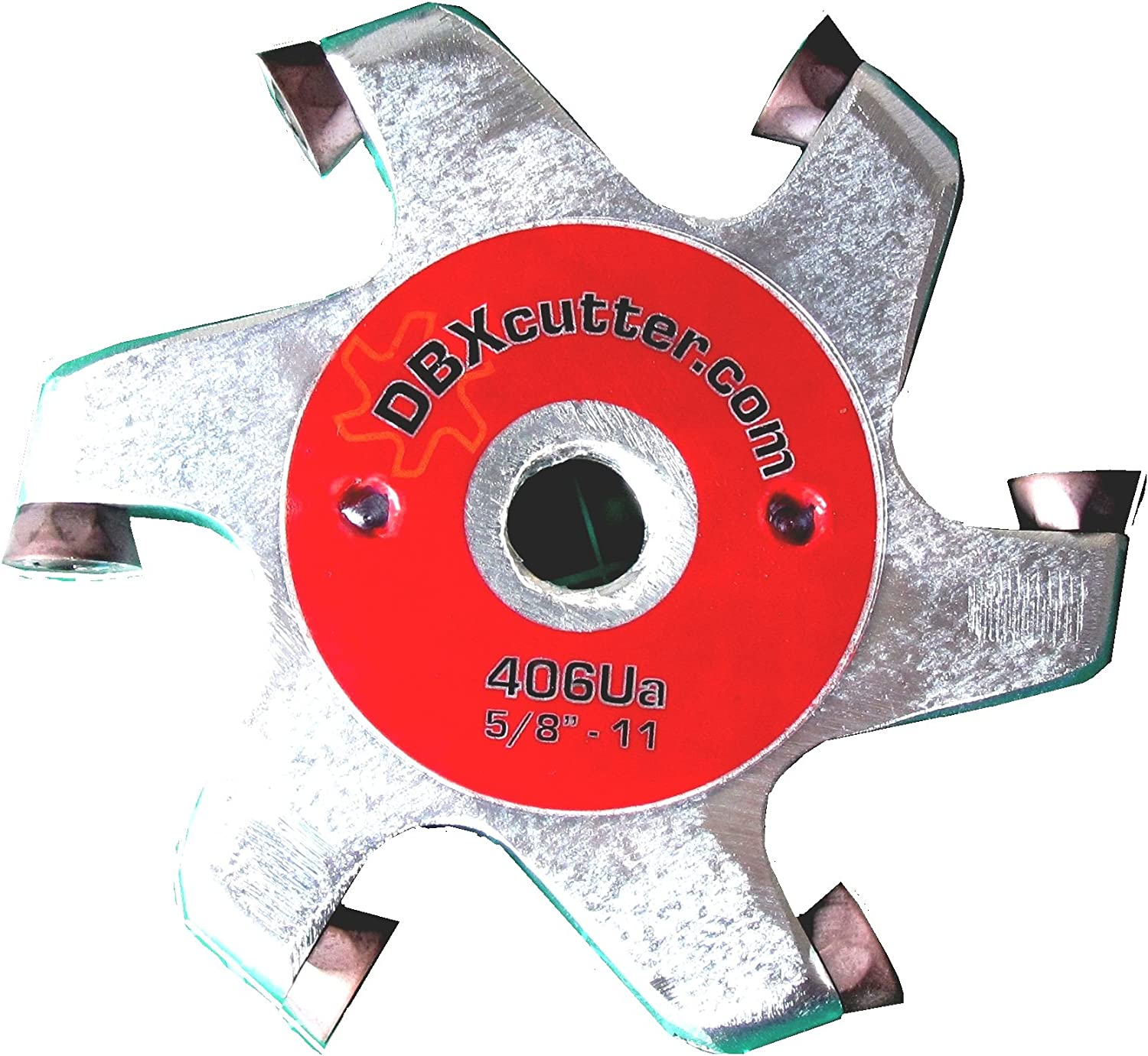 Red Carving Disc Steel Woodworking Tool For angle grinder Rotary planer