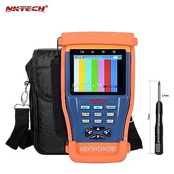Tester de vídeo Nktech NK-895 de cámaras de vigilancia 4
