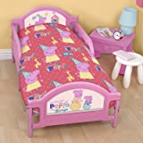 Peppa Pig Junior Cot Duvet Bed Set by character world