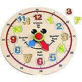 Hape-Wooden Happy Hour Clock