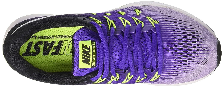 3507d54708dc cheapest amazon nike womens wmns air zoom pegasus 33 hyper grape white  hydrangeas fashion sneakers e5ade