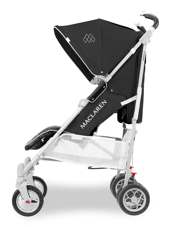 leggero e compatto Super accessoriato Per neonati e fino a 25 kg Maclaren Passeggino Techno XT Newborn Safety System/™ cappottina estensibile UPF 50+//impermeabile.