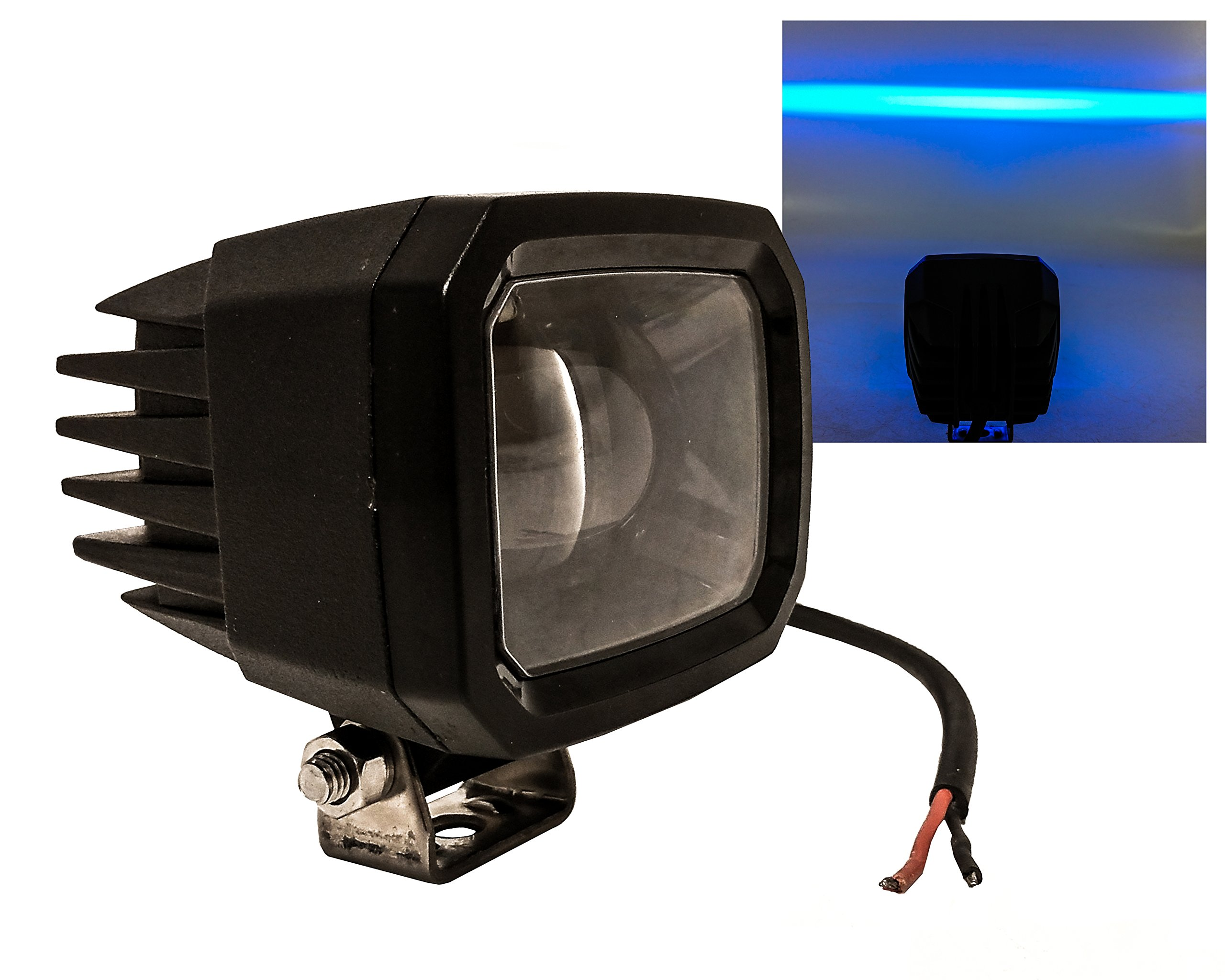 FR Series 4'' High Output Blue LED Light (Blue Line)