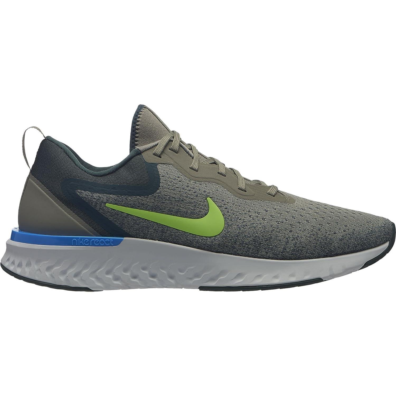 NIKE Men's Odyssey React Running Shoes B078JP4LS2 14 M US|Dark Stucco/Faded Spruce-lime Blast