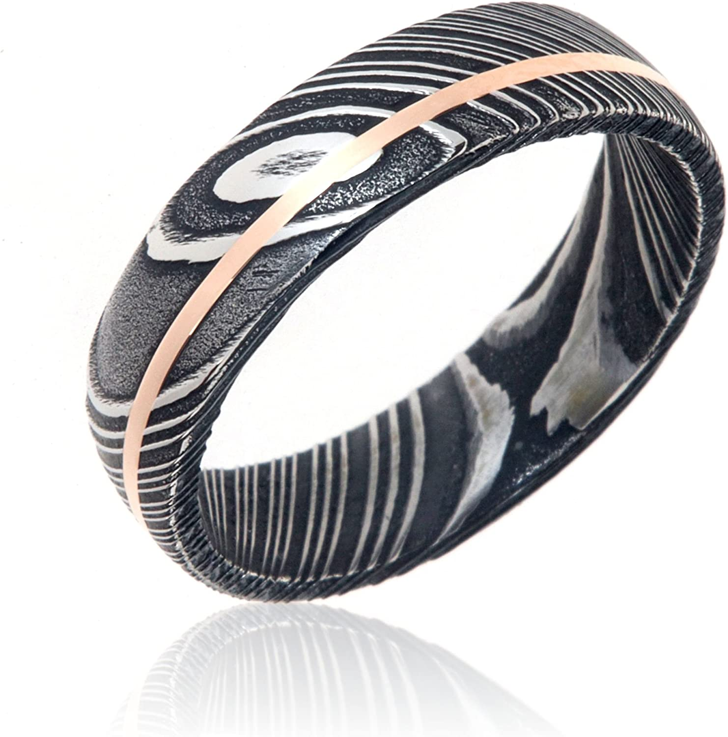 The Jewelry Source Wedding Bands Damascus Steel Rings USA Made Wedding Rings