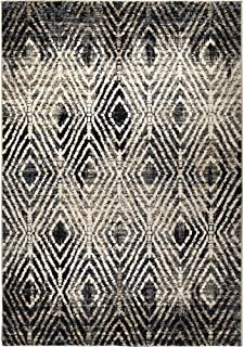 "product image for Orian Rugs Tribal Throne Off White 2'2""x8'"