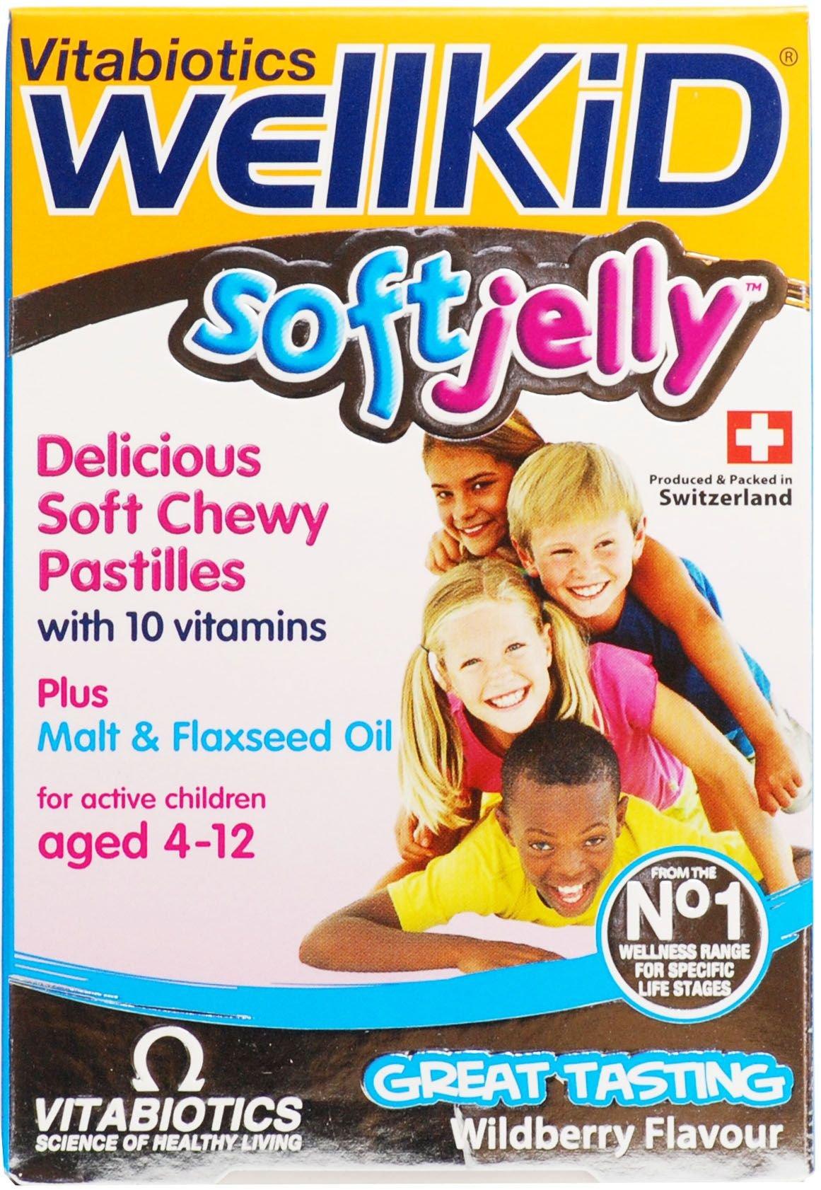 Wellkid Soft Jelly (30 Pastilles) *Bulk Pack of 12* by Vitabiotics