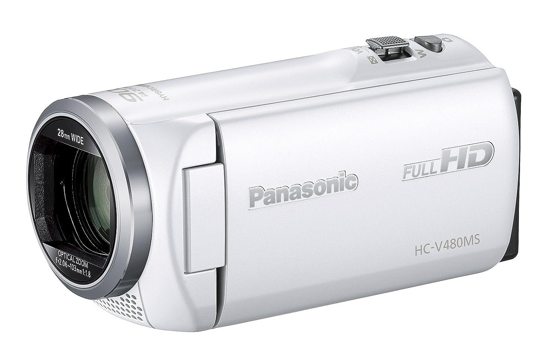 売り切れ必至! パナソニック HDビデオカメラ V480MS HDビデオカメラ HC-V480MS-W 32GB 高倍率90倍ズーム B01JRFACI8 ホワイト HC-V480MS-W ホワイト B01JRFACI8, GirassoL:42e593cd --- arianechie.dominiotemporario.com