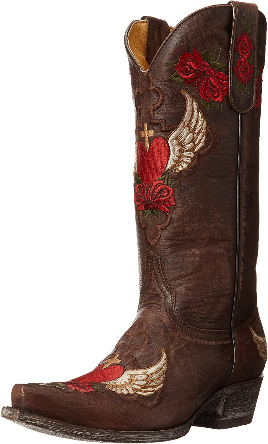 Yippee Kay Yay durch alt Gringo Women'S Abby Western Boot
