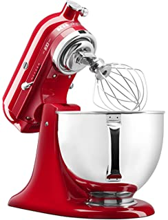 KitchenAid 5 ksm185psedr 4,8L Robot de cocina, dried, Rose: Amazon ...