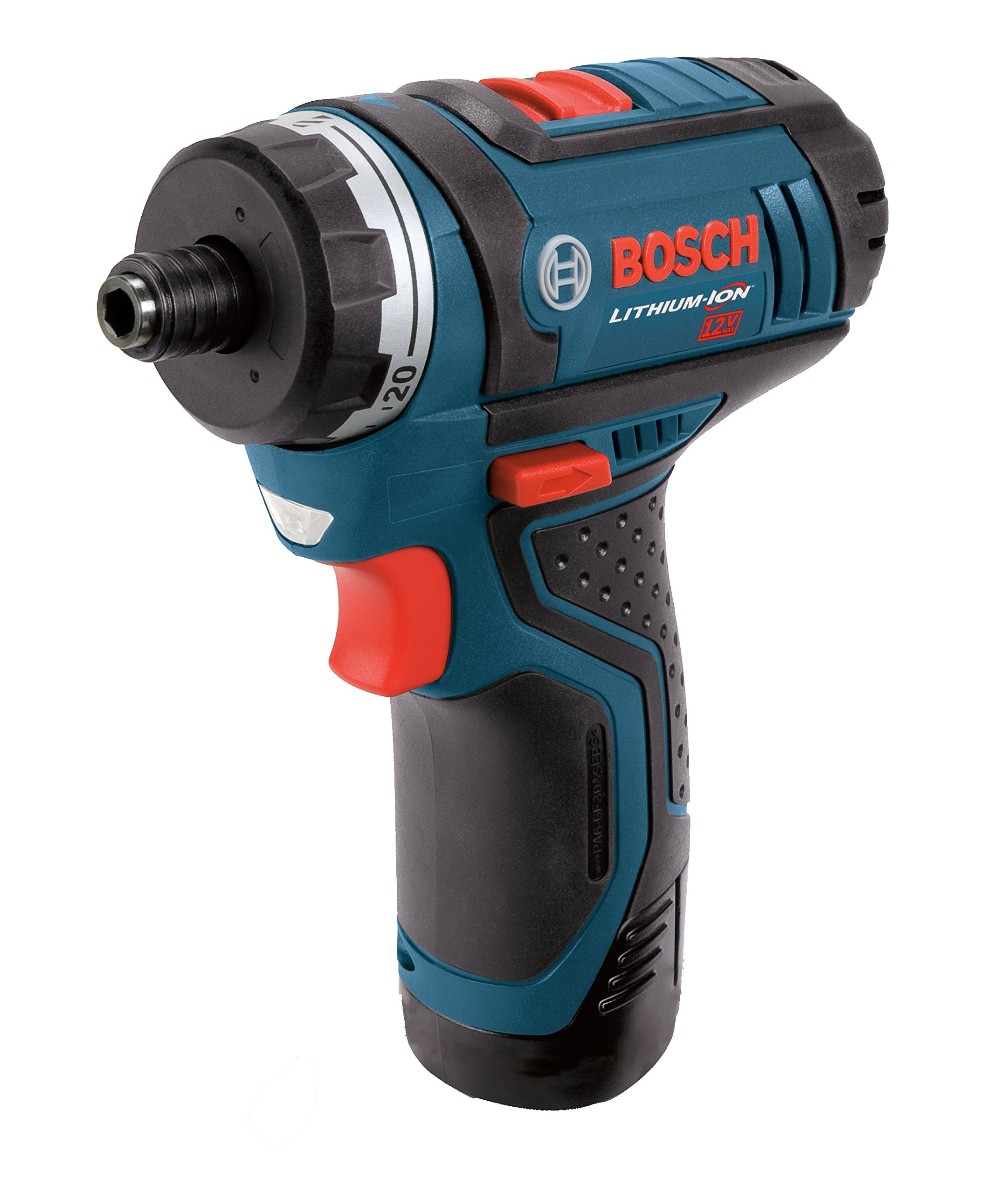 Bosch PS21-2A 12-Volt Max Lithium-Ion 2-Speed Pocket Driver Kit with 2 Batteries, Charger and Case by Bosch (Image #2)
