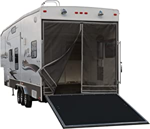"Classic Accessories - 79984 Over Drive Toy Hauler Screen, Rear Opening 90.5""H, Fiberglass or Aluminum Frames Compatible"