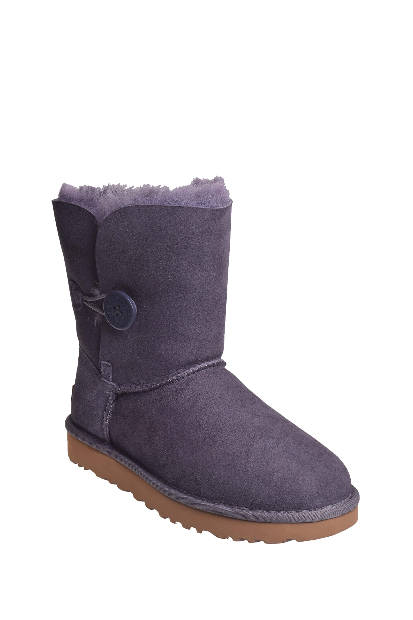 UGG Womens Bailey Button II Shearling Boot Nightfall Size 5