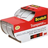 Scotch Transparent Tape, 3/4 x 250 Inches, 2 Rolls (2157SS)