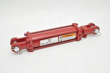 "2500 PSI 1//2/"" NPT Ports 3/"" Bore x 14/"" Stroke HydraulicTie Rod Cylinder"