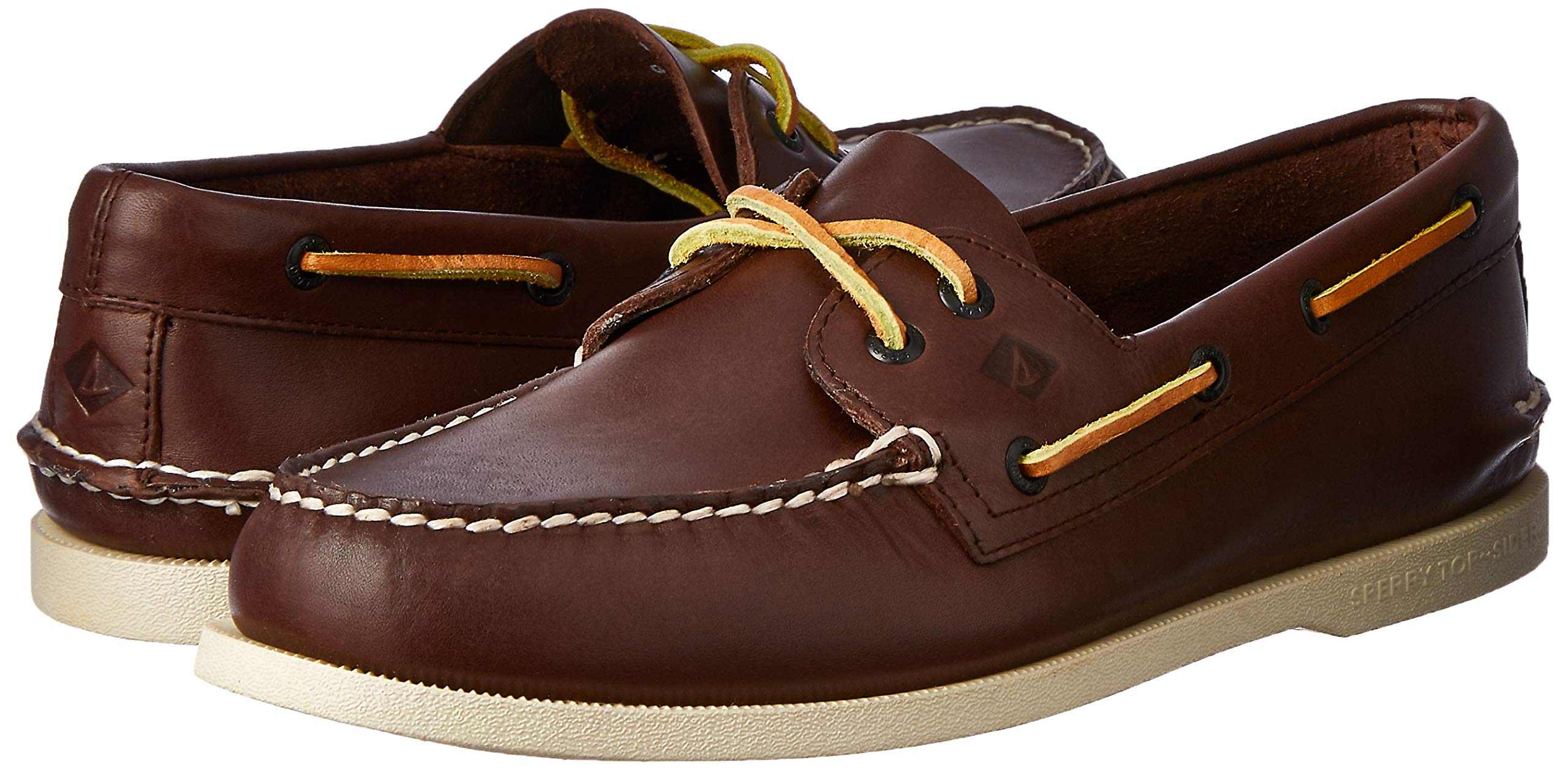 Sperry Men's A/O 2 Eye Boat Shoe,Brown,11.5 M US by SPERRY (Image #6)