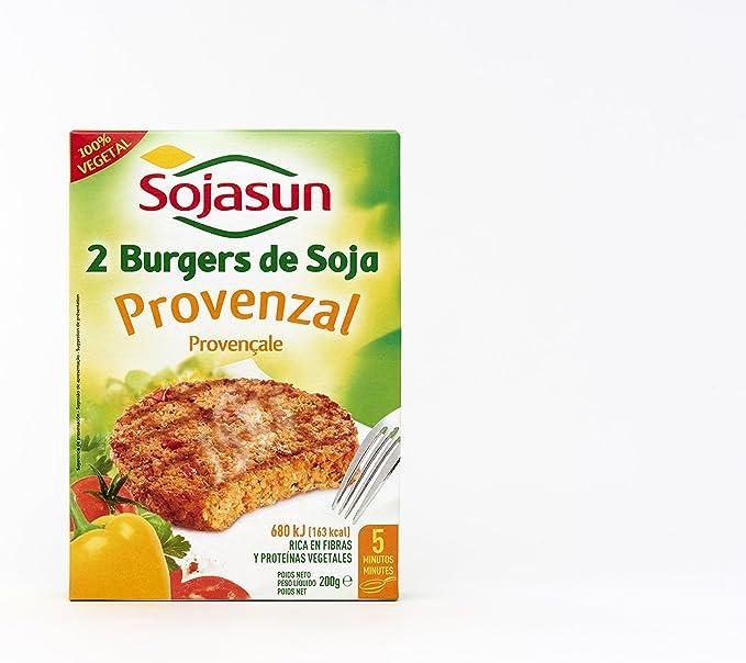 Sojasun Hamburguesa de Soja 100% Vegetal Provenzal - 2 ...