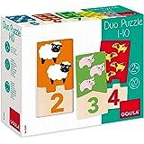 Goula Puzzle infantil para contar del 1 al 10