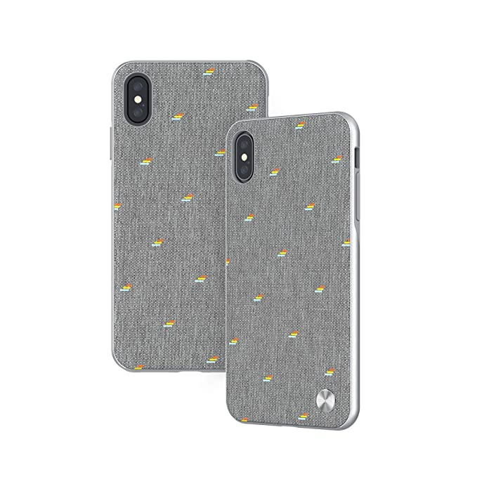 best loved 0f59d 76e55 Moshi Vesta Slim Hardshell Case for iPhone Xs Max - Gray