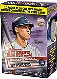 Topps Baseball 2017 Update Series Blaster Box (10 Packs Plus One MVP Award Relic Card)