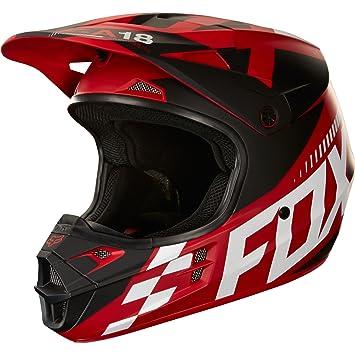 Fox Helmet V de 1 sayak, red, tamaño M