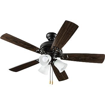 42 black ceiling fan hyperikon indoor ceiling fan with lights 42inch black fan five reversible