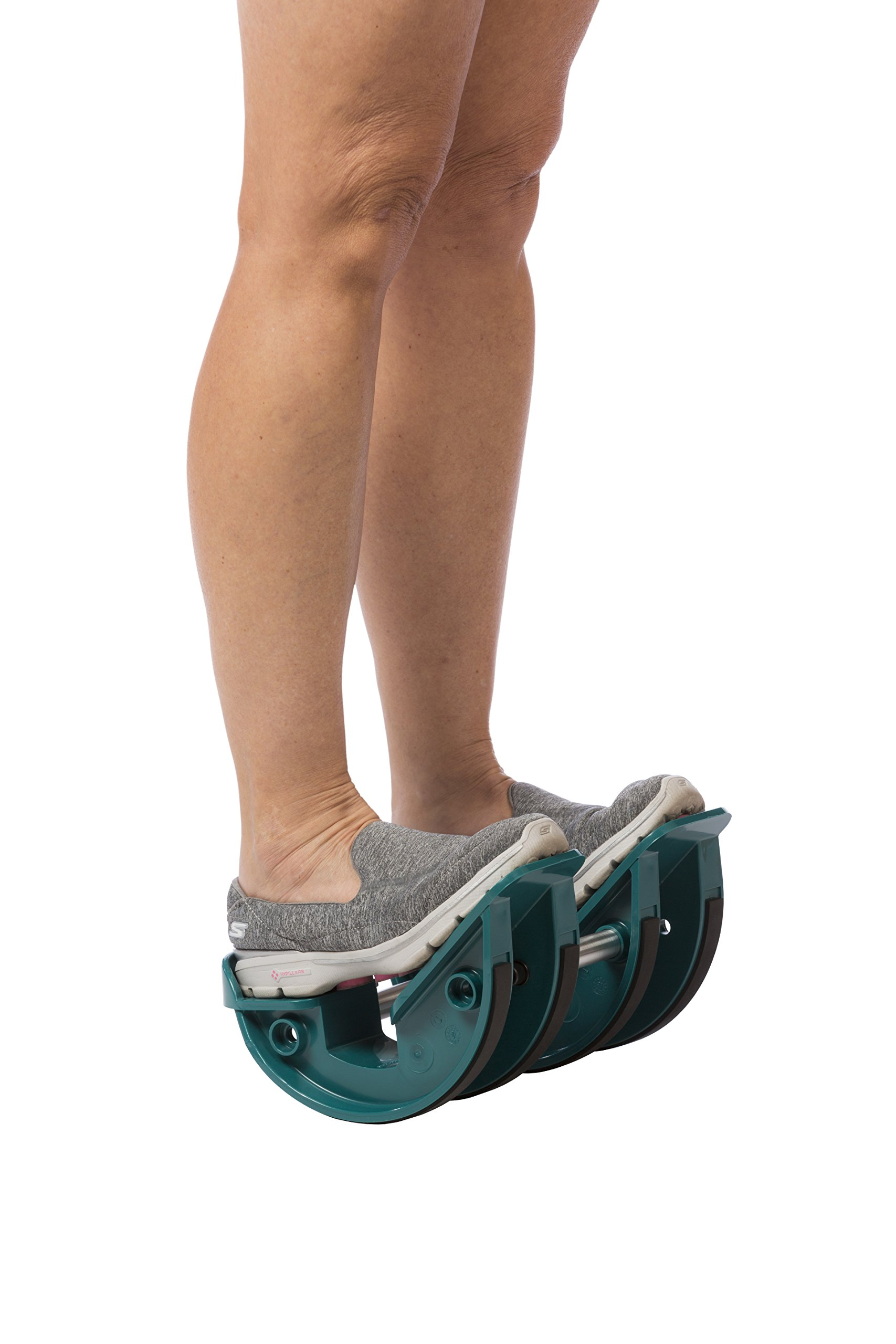 ProStretch StepStretch (Double) - Calf Stretcher & Foot Rocker for Pain Caused by Plantar Fasciitis, Achilles Tendonitis, & Tight Calves (Slip Resistant Bottom)