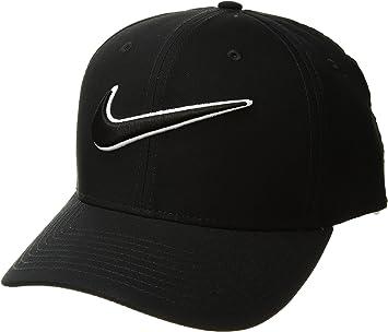 Nike Classic99 Swoosh Gorra de Golf, Hombre, Negro (Black 010), S ...