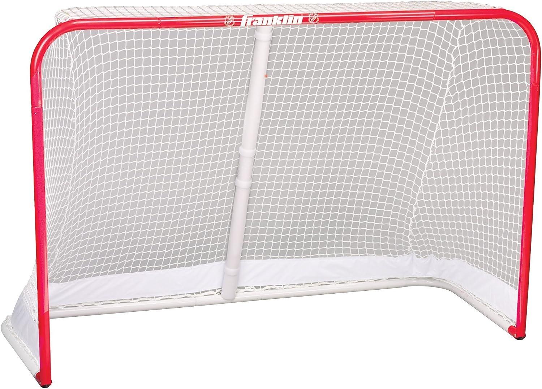 Franklin Sports Sleeve Net Goal Replacement Hockey Net Reinforced Net Perimeter