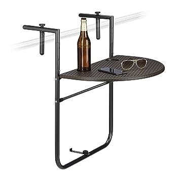 Table Pliable Couleurs Assorties Suspendue X Hauteur Relaxdays Bastian3 P84 63 Balcon Pliante RéglableHxlx Pour Cm 60 – R34LAq5j
