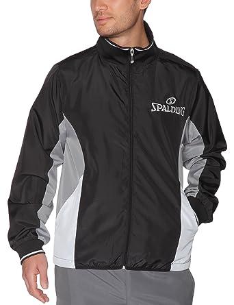 Spalding Jacket Chaqueta De Chandal, Hombre, Negro, XXXL: Amazon ...