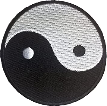 Amazon Papapatch Yin Yang Chinese Circle Diy Symbol Jacket T