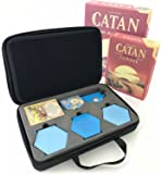 MageCraft Travel Carrying Hard Case For Catan 5th Edition And 5-6 Player Extension