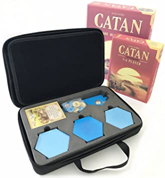 Magecraft-Travel - Funda rígida de transporte para Catan 5ª ...