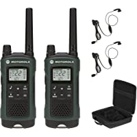 $62 » Motorola Talkabout T465 Rechargeable Two-Way Radio Bundle (Green)