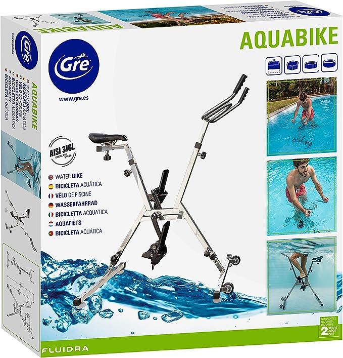 Gre AQB2 Aquabike Bicicleta para Piscina: Amazon.es: Deportes y ...